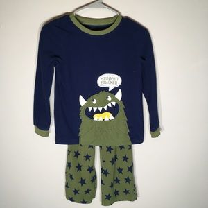 Carters Snack Monster PJs